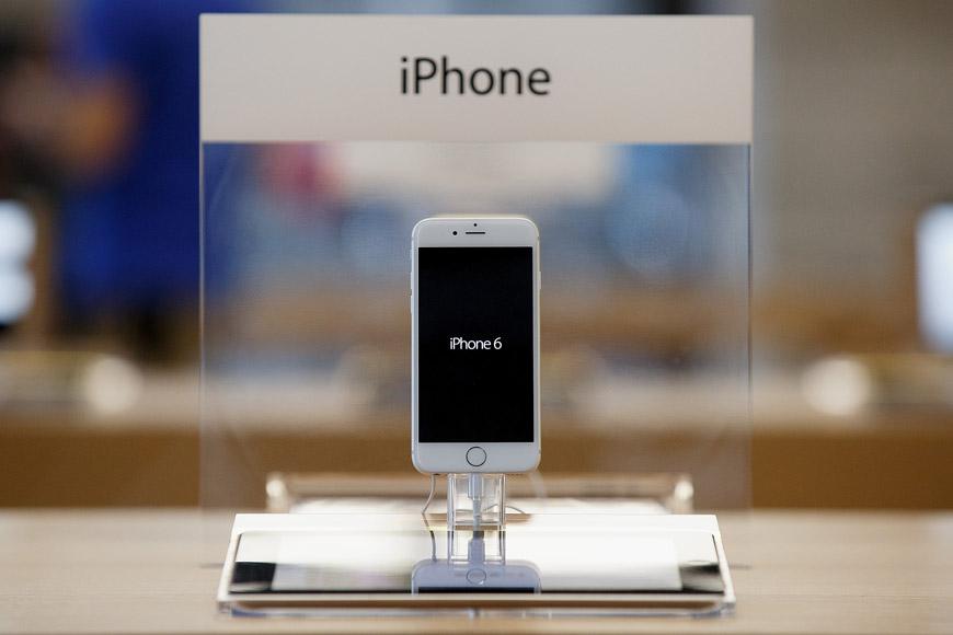 iPhone 6 je elegantní a zároveň praktický mobilní telefon.