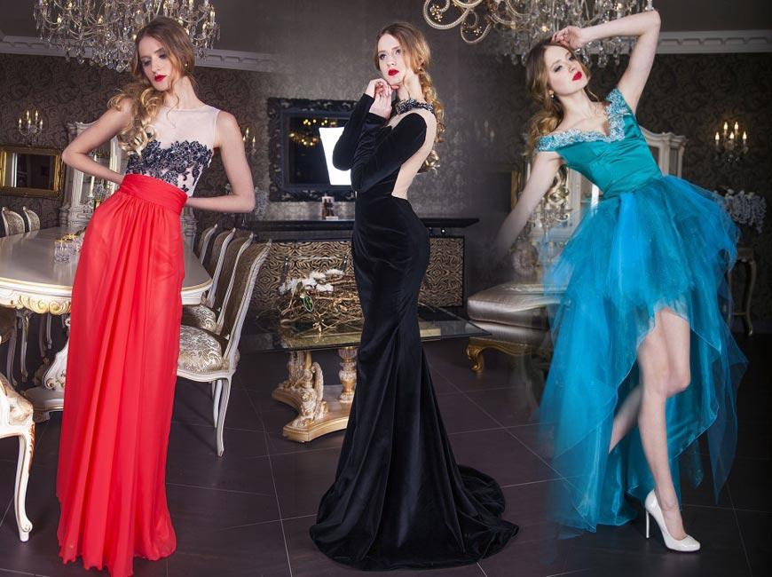 Plesové šaty Zoryana Stekhnovych si můžete v Praze vypůjčit nebo koupit.