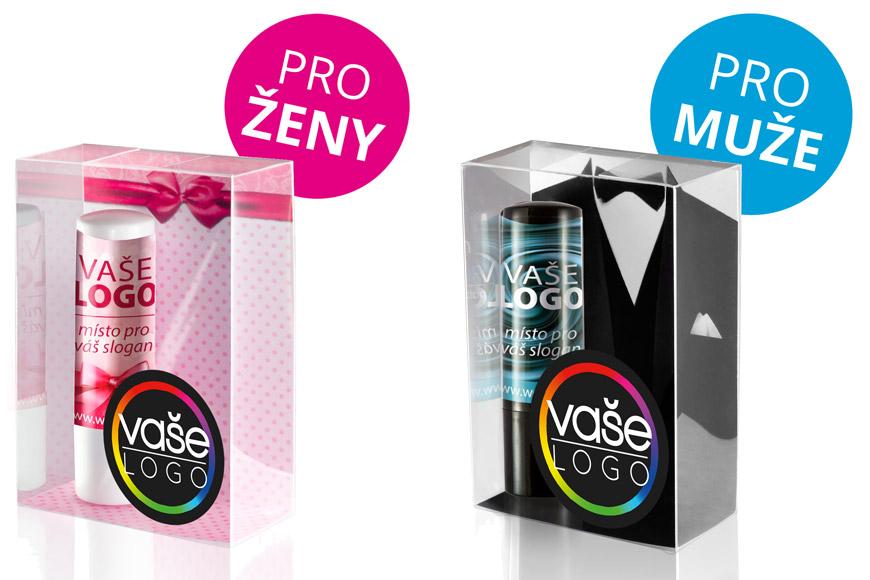 Reklamní kosmetika MOJA nabízí reklamní balzámy pro ženy i pro muže.