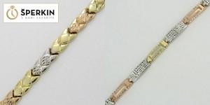 Zlaté šperky ze Sperkin.cz – zlaté řetízky a náhrdelníky ze tří druhů zlata vypadají skutečně pompézně a přitom velice vkusně.