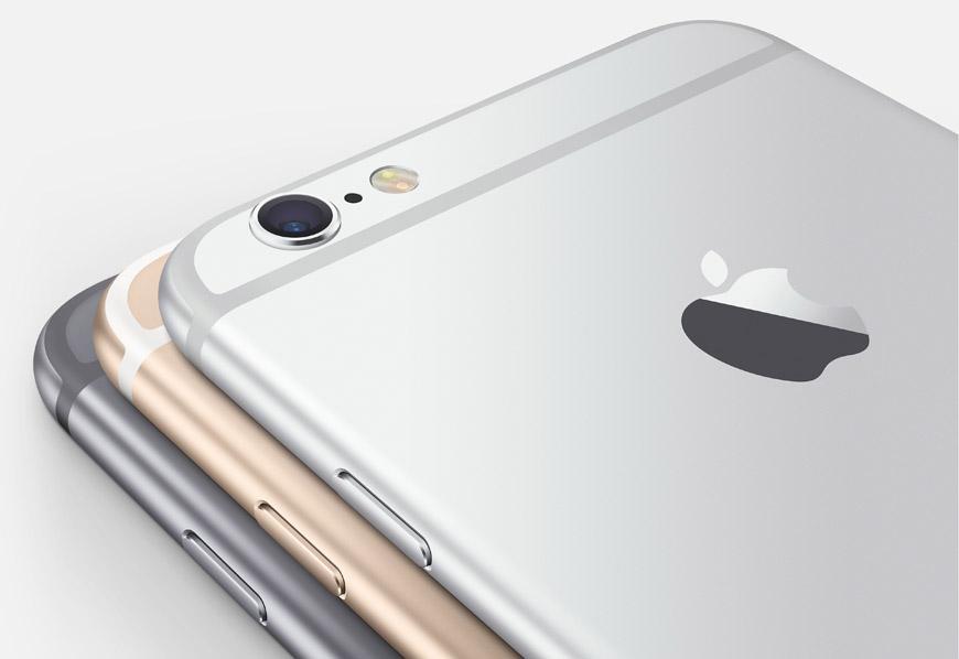 iPhone 6 se prodává ve třech ve barvách: ve stříbrné, zlaté a ve vesmírné šedé.