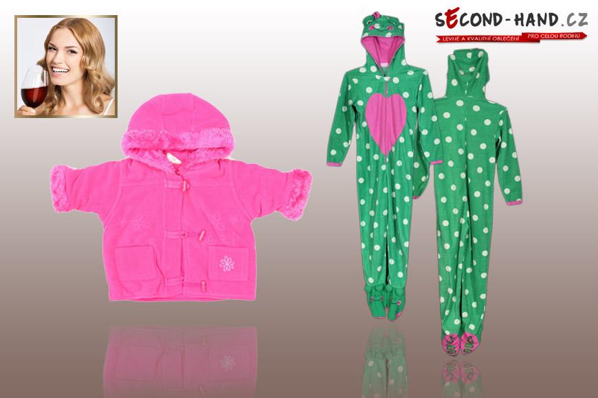Mária nakoupila na Second-hand.cz oblečení pro miminko své kamarádky.