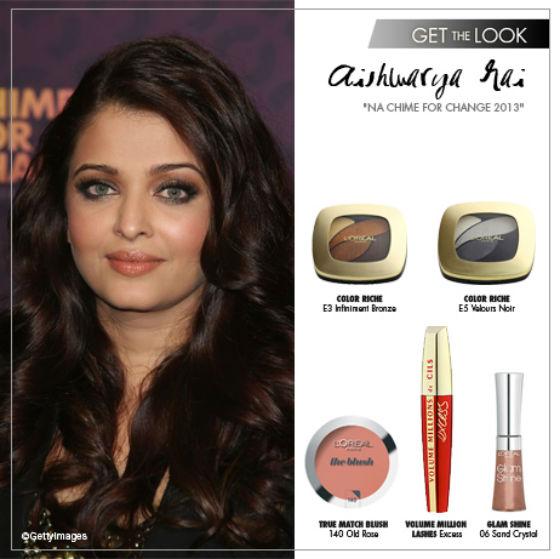 Inspirujte se bollywoodskou hvězdou Aishwaryi Rai