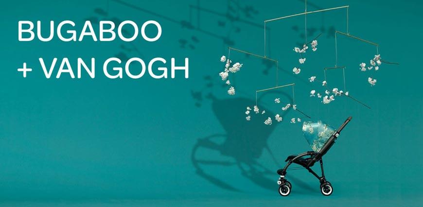 Kočárky Bugaboo teď představují horkou novinku – limitovanou kolekci kočárků inspirovanou holandským malířem Vincentem van Goghem – Bugaboo Bee³ + Van Gogh.