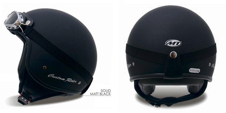 Moto přilba MT Custom Rider.