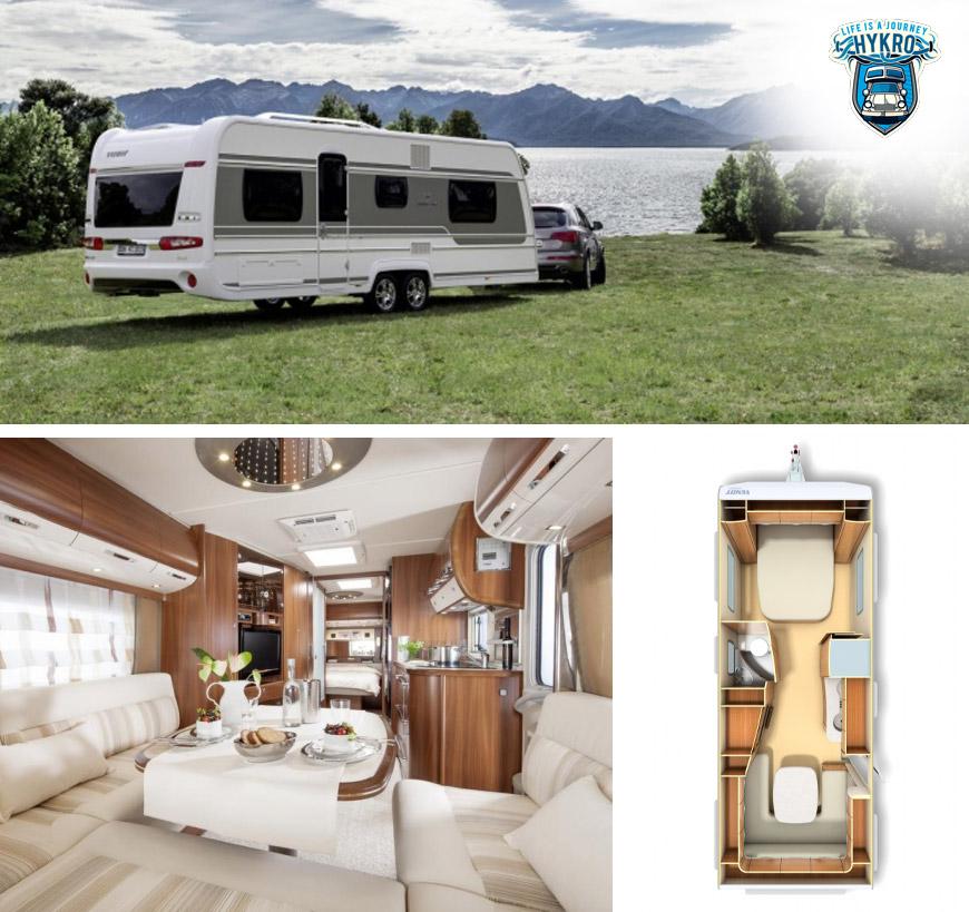 Karavan Fendt Brillant 650 TF – umíte si představit luxusnější cestování?