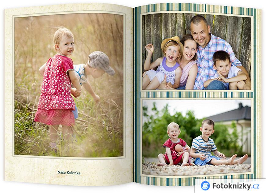 Fotoknížka je skvělý dárek pro rodinu a známé.