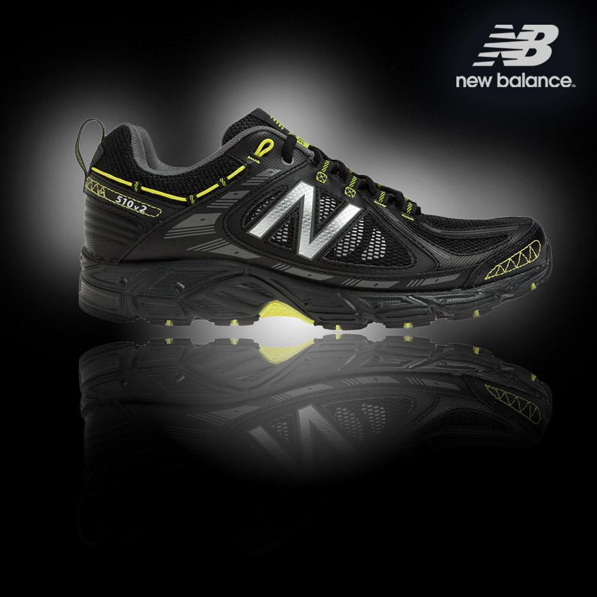 Pánské běžecké boty pro Trail (Offroad) New Balance MT510BS2 s technologií pro zvýšení odolnosti proti mechanickému opotřebení N-Durance.