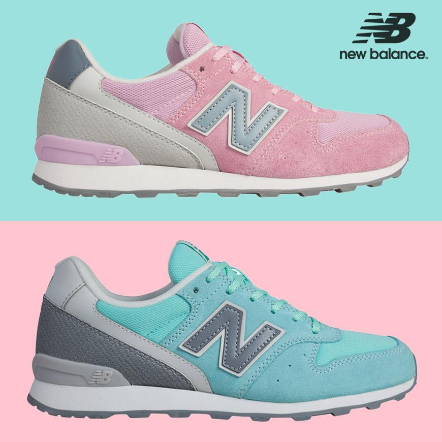 New Balance boty jsou také ideální lifestylové boty do módních outfitů. Na obrázku jsou dámské boty New Balance WR996GH a WR996GF.