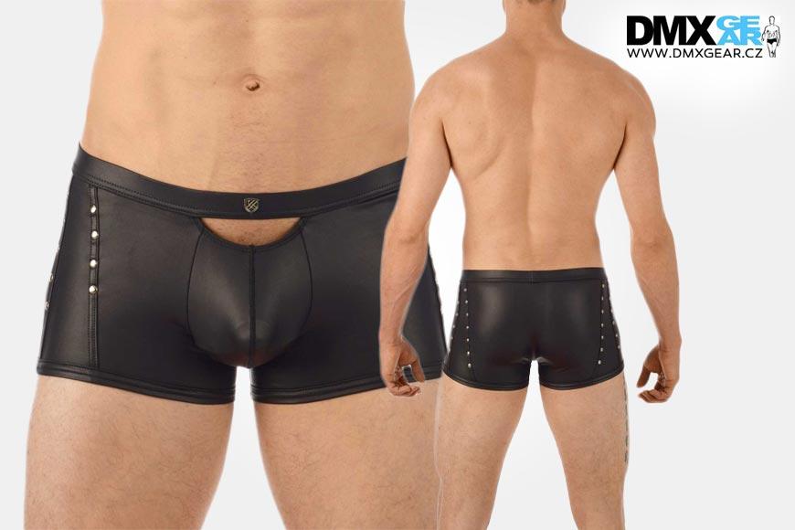 Boxerky Gregg Homme s efektním kováním jsou z kolekce kanadské značky, jejíž sortiment pánského spodního prádla koupíte v e-shopu DMXgear.cz.