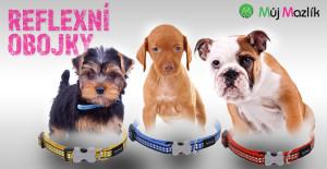 Reflexní obojky pro psy Red Dingo prodává e-shop Mujmazlik.cz.