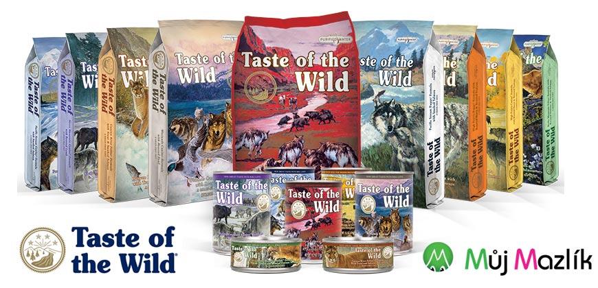 Taste of the Wild to jsou kvalitní granule i konzervy pro psy a kočky.