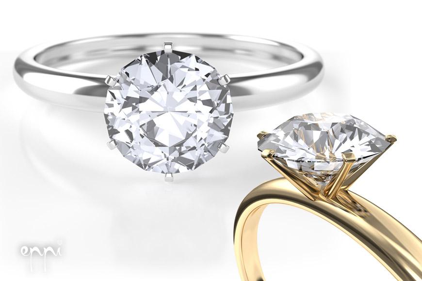 Diamantový prsten je král mezi prsteny!