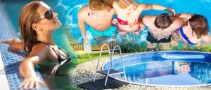 Nepřipravte se o koupací sezónu! Plastové bazény, fóliové bazény, ale i nenáročné nadzemní bazény je nejlepší budovat mimo sezónu!