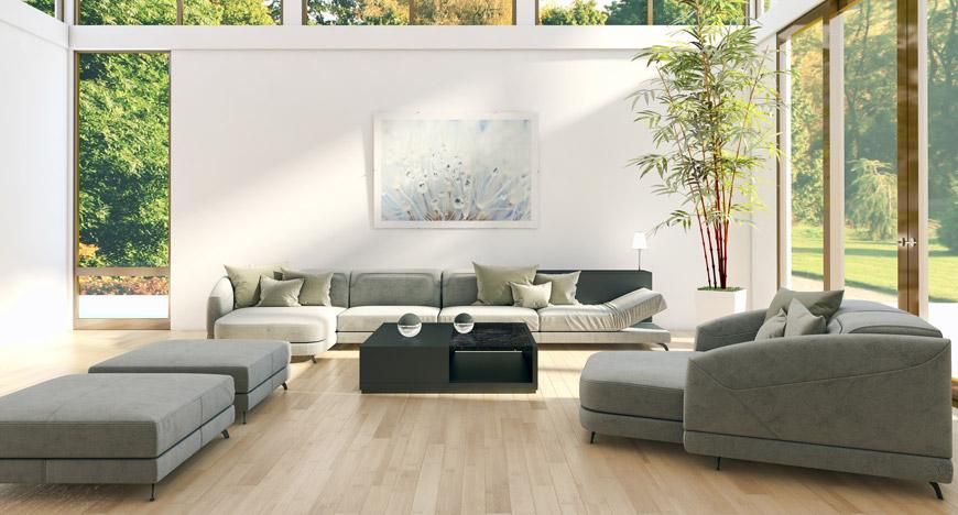 Podlahy se vrací k přírodním materiálům. Hitem jsou dřevěné plovoucí podlahy.