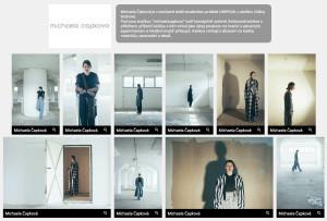 Michaela Čapková vystavuje ve virtuální galerii Fashion&Design Festival.