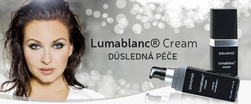 Vyzkoušejte produkty Pevonia Botanika Lumablanc® Cream a Eye Contour Lift & Glow – Lumafirm® pro ženy mezi 30 a 50 lety.