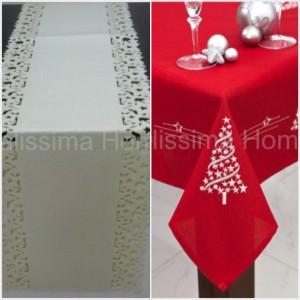 Bílá nebo její kombinaci se zlatou či stříbrnou nesou znaky luxusu letošních Vánoc. (Zboží je z nabídky shopu Italissima.)