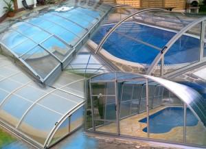 Pro svůj bazén si můžete vybrat z velké palety nejrůznějších typů zastřešení.