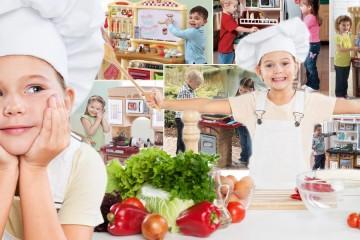Jeden z nejlepších dárků pro děti od 3 do 7 let je dětská kuchyňka. Pořídíte ji vybavenou lépe než tu svoji v pravé kuchyni. Děti ji milují!