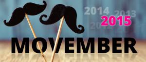 Movember 2015 – začíná měsíc, kdy prim hraje parádní knír! Nechte si narůst knír, hýbejte se pro zdraví a přispějte na mužské zdraví!