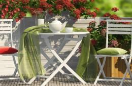 Zahradní nábytek Doppler jako móda pro zahradu i balkon!