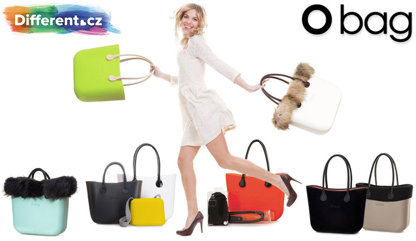 Zvedne vám vždy náladu nová kabelka? V sortimentu Different.cz najdete inteligentní kabelky pro kreativní ženy – Obag!