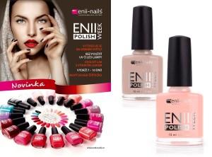 Ideální lak na přírodní nehty se jmenuje ENII WEEK POLISH.