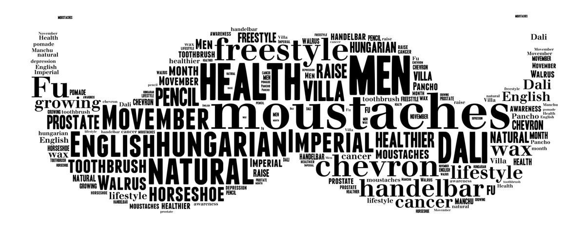 Slavte s námi měsíc Movember – svátek mužského zdraví a parádního kníru!