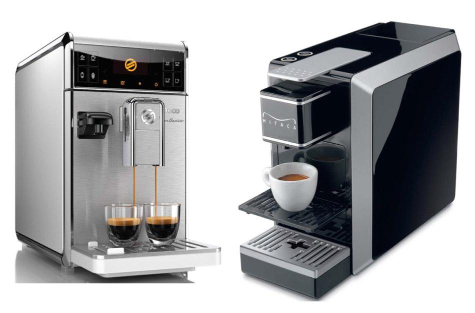 Společnost AQUARA dodává také kávovary.