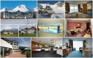 Zalyžujte si letos ve Vysokých Tatrách. Hotel Hubert Vital Resort nabízí nádherné výhledy a skvělé možnosti lyžování.