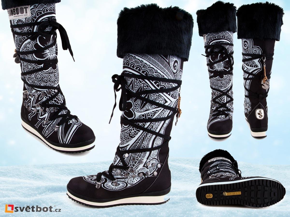 Snoboot sněhule – ideální krásky do sněhu. Koupíte je na Svetbot.cz.