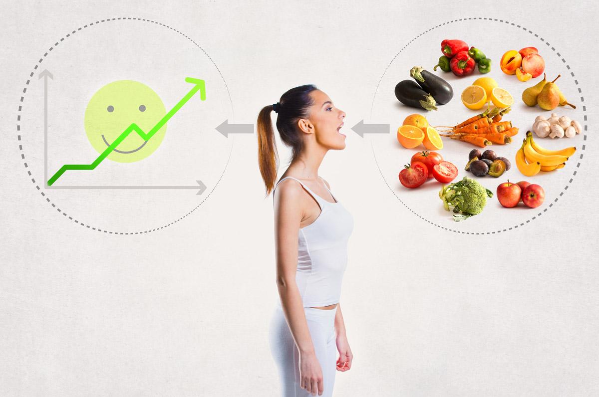 Správná a vyvážená strava rozložena do několika denních porcí vede k přirozenému a trvalému úbytku váhy.