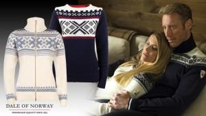Vlněné svetry Dale mají dobré jméno nejen v Norsku.