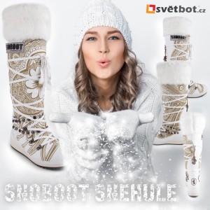 Snoboot sněhule nejsou jen luxusní krásky, ale skutečně funkční zimní boty do zasněžených hor. Koupíte je na Svetbot.cz.