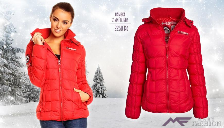 Dámská zimní bunda Geographical NORWAY ze sortimentu Mary-fashion.cz. (Cena: 2250 Kč)