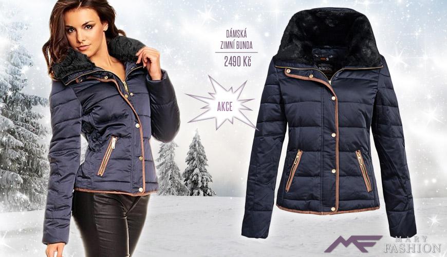 Krátká dámská zimní bunda Sublevel. (Cena – nyní ve slevě: 2490 Kč)