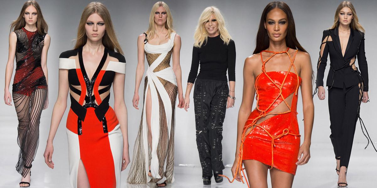 Luxusní sportovní móda podle Haute Couture Atelier Versace pro jaro 2016 se inspirovala nadcházejícími olympijskými hrami v Rio de Janeiro.
