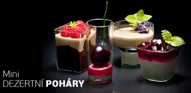 Jednorázové nádobí může být skutečně stylové. (Nádobí na obrázku zakoupíte e-shopu Catershop.cz.)