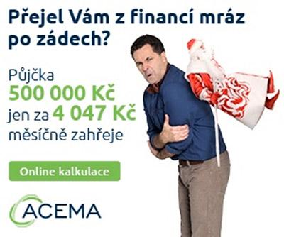 Oblíbený český herec Martin Dejdar se stal tváří nebankovních půjček ACEMA Credit, jenž nabízí půjčky bez doložení příjmů i půjčky bez registru.