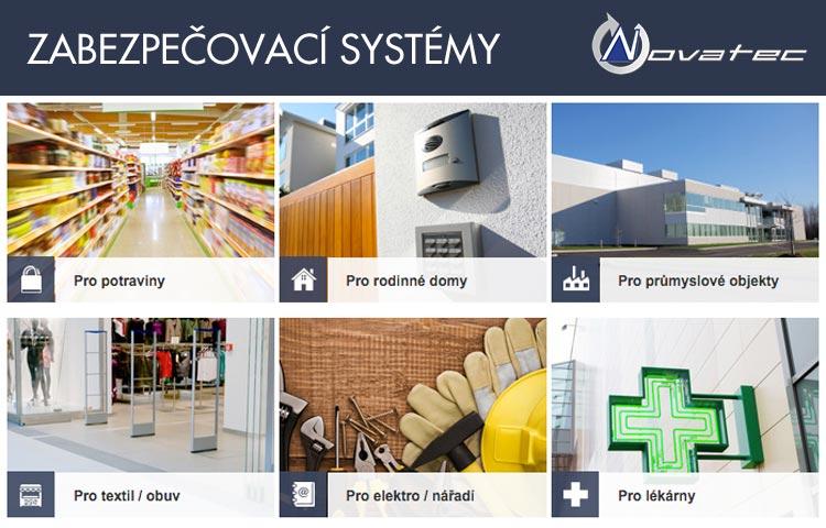 Profesionální zabezpečovací systémy vám navrhne a zajistí společnost Novatec Sicherheitstechnik s.r.o.