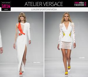 Luxusní sportovní móda očima Donatelly Versace – Haute Couture Sprigng 2016.