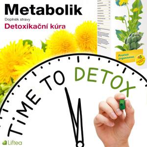 Je čas na jarní detox – nastartujte svůj metabolismus pomocí přípravku Metabolik!