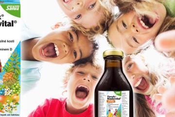 Floradix Kindervital pomůže našim dětem zdravě růst. Obsahuje vápník, vitamín D a další důležité vitamíny v tekuté formě.