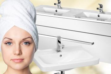 Koupelna jako ráj –chce to myslet na detaily! Veškeré vybavení pro koupelnu, od sanity až po koupelnový nábytek, koupíte v e-shopu M&K stavební servis.