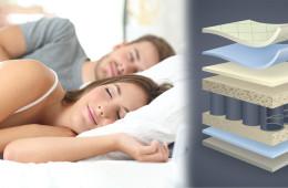 Na tom, na čem spíte, záleží! Matrace pro královské spaní koupíte v e-shopu Kralovske-spani.cz.