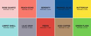 Desítka barev pro jaro/léto 2016 podle Pantone.