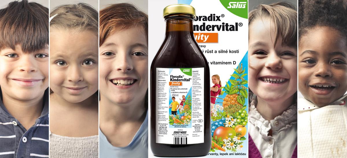 Floradix Kindervital je bohatý zdroj vápníku,vitamínu D a dalších vitamínů pro naše děti.