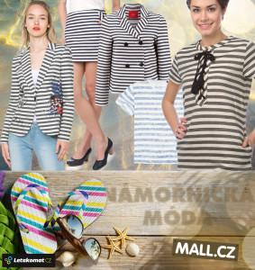 Špetka námořnické módy z Mall.cz.