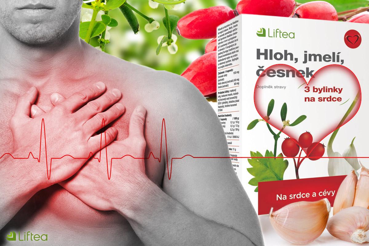 Liftea Hloh, jmelí, česnek podporuje správné fungování krevního oběhu a srdce a dodává unavenému srdci energii. Obsažené byliny přispívají k optimalizaci krevního tlaku a podílejí se na udržování správné hladiny cholesterolu. Denně se užívají jedna až dvě tablety.
